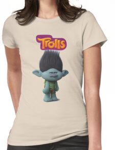branch troll Womens Fitted T-Shirt