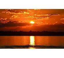 Sunset over the Bay Photographic Print