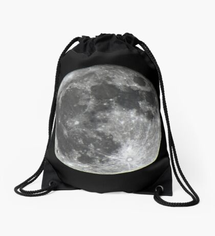 Supermoon Drawstring Bag