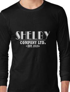 Peaky Blinders Shirt Shelby Company Long Sleeve T-Shirt
