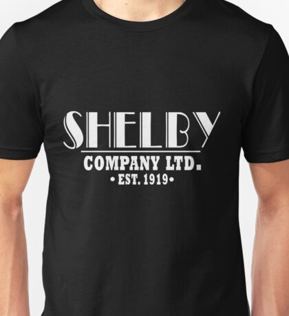 Peaky Blinders Shirt Shelby Company Unisex T-Shirt