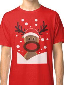 Funny Christmas Deer Classic T-Shirt