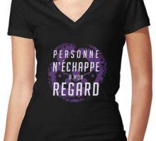INFRA-SIGHT - Widowmaker ULT Women's Fitted V-Neck T-Shirt