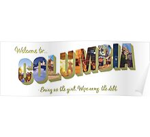Welcome to Columbia Poster