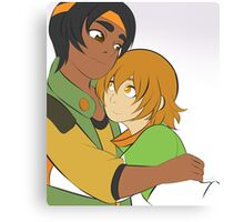 Hunk and Pidge of Voltron Canvas Print