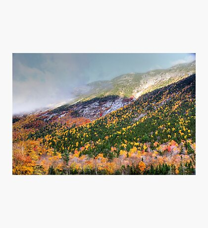 Mountain In the Mist Photographic Print