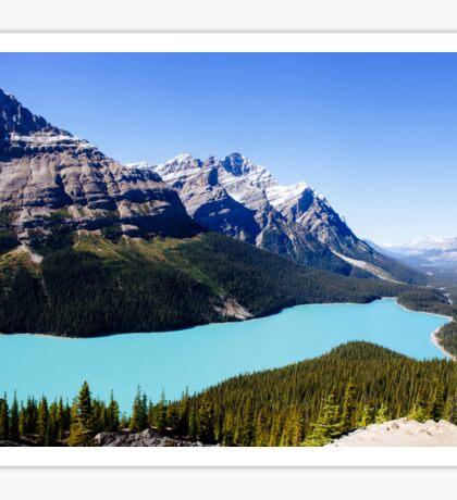 Peyto Lake, Canada Sticker