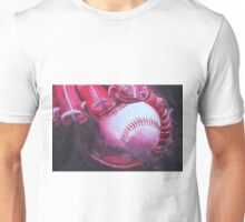 Monochromatic Ball & Glove Unisex T-Shirt