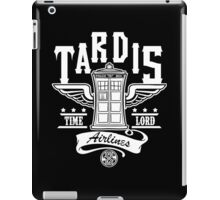 Time Travel Airlines iPad Case/Skin