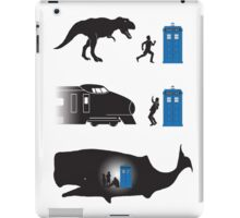 Time Travel Is Dangerous iPad Case/Skin