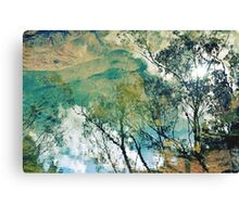 Upside Down Reflections Downunder Canvas Print