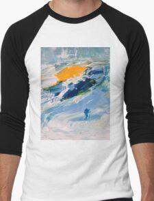 GLACIER Men's Baseball ¾ T-Shirt