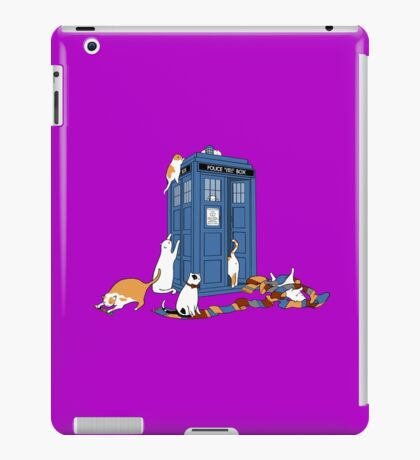 Time Travellers iPad Case/Skin