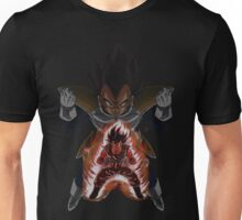 Goku (Kaio-Ken) and Vegeta (Saiyan Saga) Unisex T-Shirt