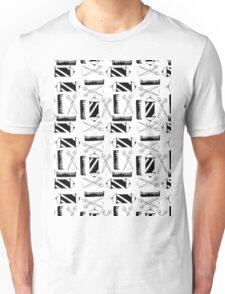 Barber Pattern Unisex T-Shirt