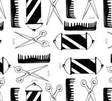 Barber Pattern Sticker