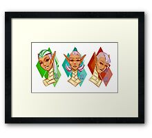 The Space Elves Framed Print