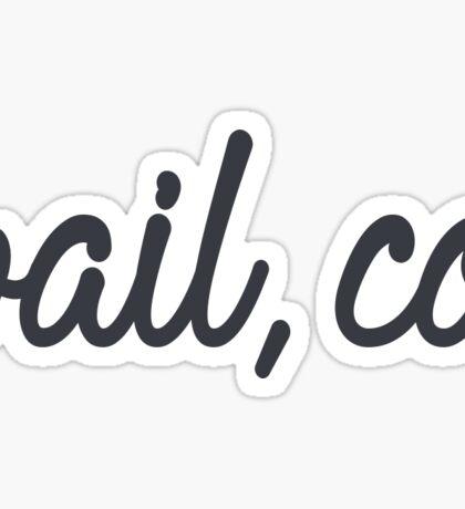 vail Sticker