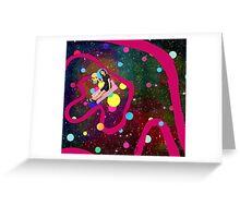 Universe painter Greeting Card