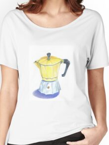 Yellow Espresso Women's Relaxed Fit T-Shirt