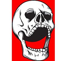 The laughing Skull Photographic Print
