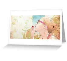 Soap Bubble Greeting Card