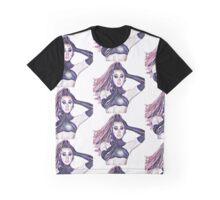 Gia Gunn Print Graphic T-Shirt