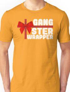 Gangster Wrapper (Rapper) Christmas Bow Present Unisex T-Shirt