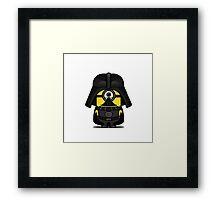 Mini IN Vader Framed Print