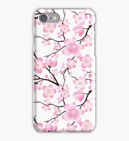 Sakura Cherry Blossoms iPhone Case/Skin