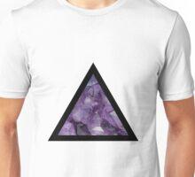 Amethyst Triangle Unisex T-Shirt