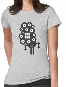 Robots in cell. Womens Fitted T-Shirt