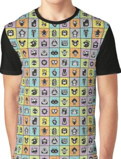 Robots in cell. Graphic T-Shirt