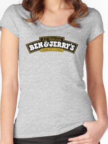 BEN AND JERRY Women's Fitted Scoop T-Shirt