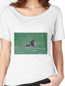 """""""Come In - The Water's Lovely!"""" Women's Relaxed Fit T-Shirt"""