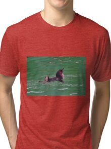 """""""Come In - The Water's Lovely!"""" Tri-blend T-Shirt"""