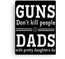 guns deads Canvas Print