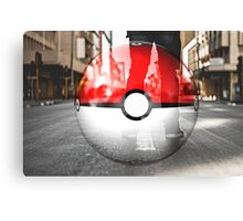 Pokemon when you're on the GO  Canvas Print