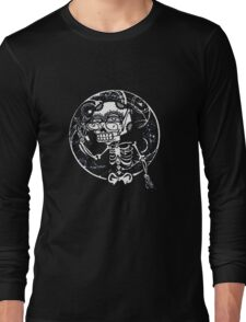 skull glasses Long Sleeve T-Shirt
