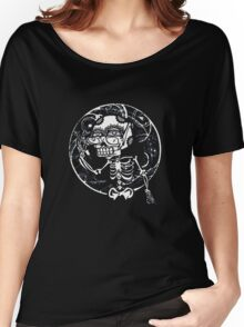 skull glasses Women's Relaxed Fit T-Shirt