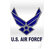 US AIR FORCE Poster