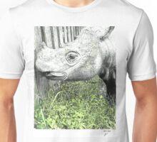 Sumatran Rhinoceros Unisex T-Shirt