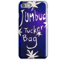 Jumbuck Tucker Bag White Text  iPhone Case/Skin