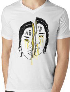 Asap Art Mens V-Neck T-Shirt