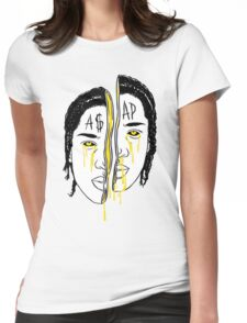 Asap Art Womens Fitted T-Shirt