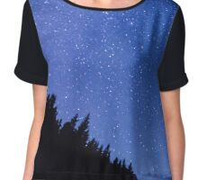 Oh Starry Night Chiffon Top