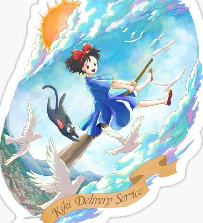 Kiki's World Sticker
