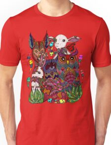 Woodland Creatures Unisex T-Shirt