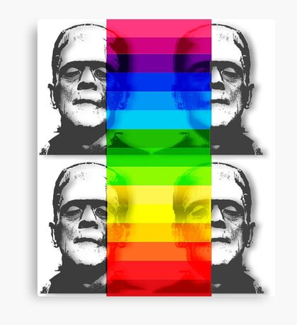 He is a Rainbow Canvas Print