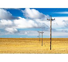 Prairie Scenic Photographic Print